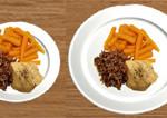 El tamaño del plato ayuda a disminuir la ansiedad