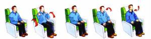 Procure realizar ejercicios durante el vuelo
