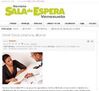 Reseña en portal web Sala de Espera